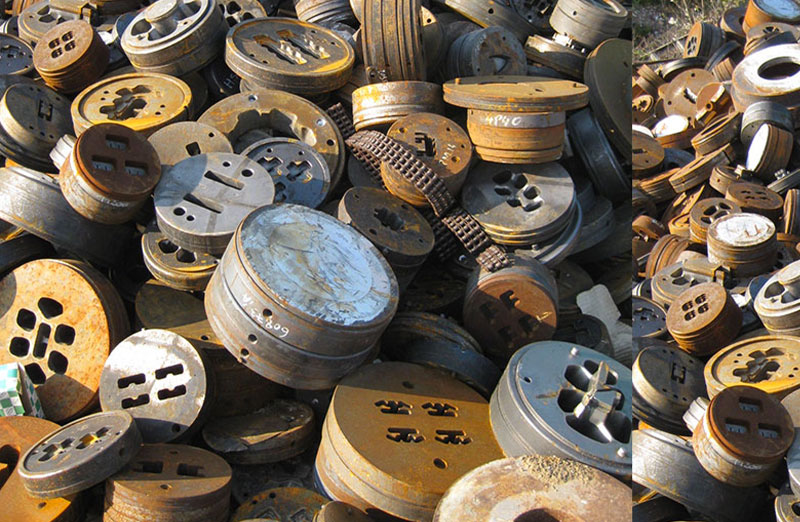 recuperation recyclage rachat ferraille industrielle